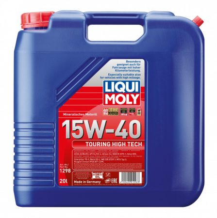 Liqui Moly Touring High Tech 15w-40 20l